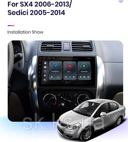 Junsun 4G Android магнитола для  Suzuki SX4 2006 2007 2008 2009 2010 2011 2012 2013  wifi