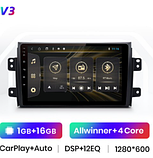 Junsun 4G Android магнитола для  Suzuki SX4 2006 2007 2008 2009 2010 2011 2012 2013  wifi, фото 2