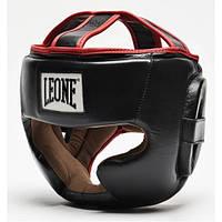 Боксерський шолом Leone Full Cover Black S