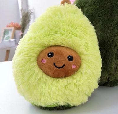 Оригинальная подушка-игрушка Авокадо Топчик green