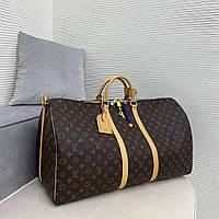 Дорожня сумка Louis Vuitton Keepall жіноча, фото 1