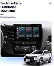Junsun 4G Android магнітола для Mitsubishi Outlander 3 2012-2019 wifi