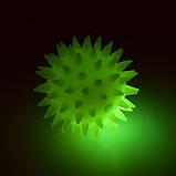 М'яч масажний MS 1146 з пискавкою, фото 3