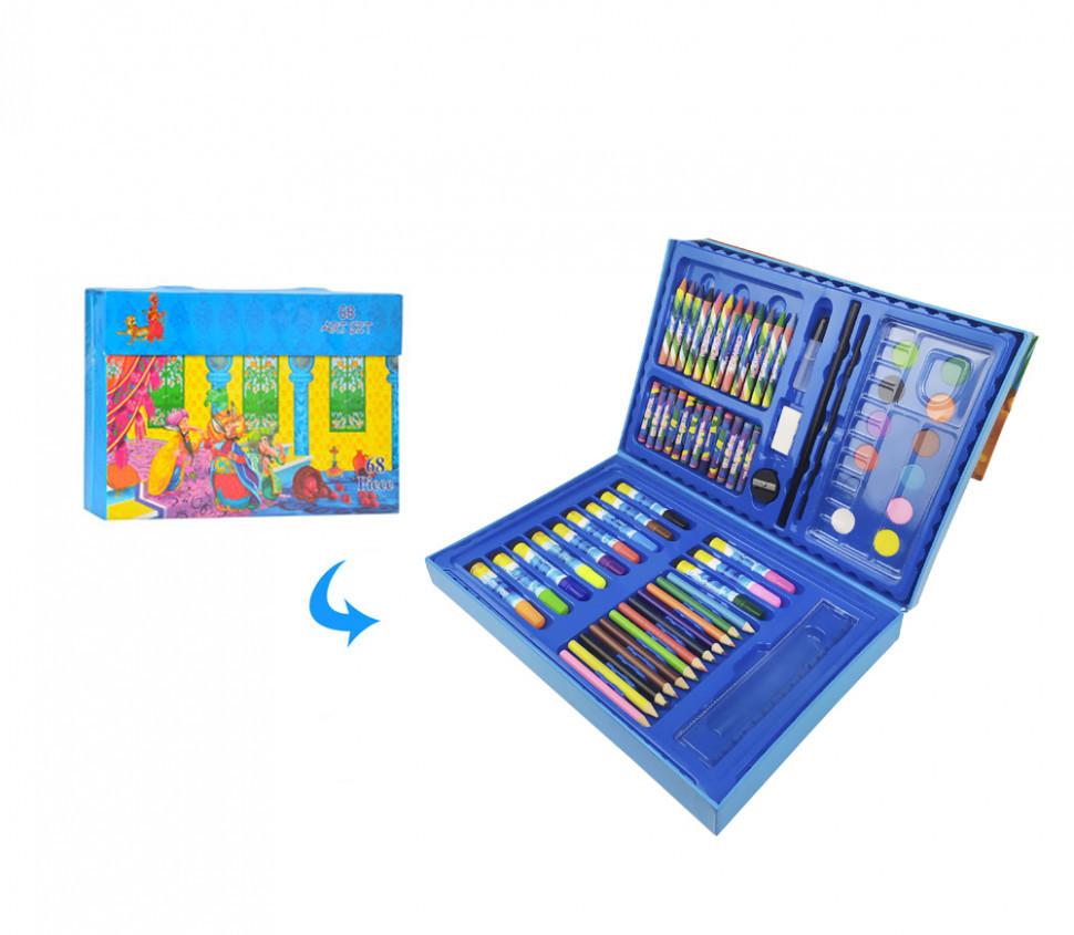 Детский набор для рисования MK 3226 в чемодане (Восточная сказка)
