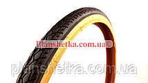 Гума вело. 24*1,75 (47-507) SRC дорожняя,(помаранчевий корд), фото 3