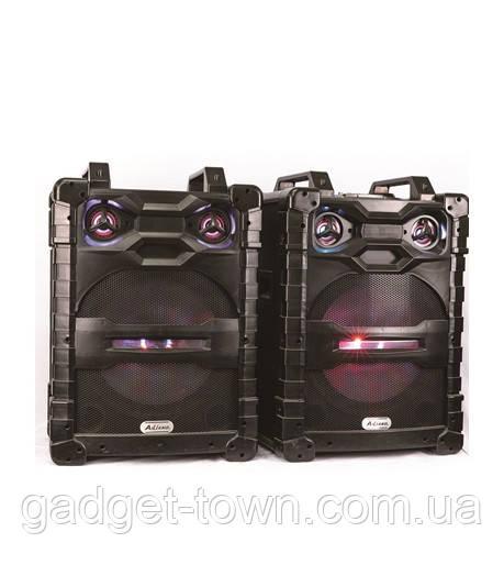 Комплект потужної акустики Ailiang UF-1531-DT 400W (USB/FM/Bluetooth) Пара