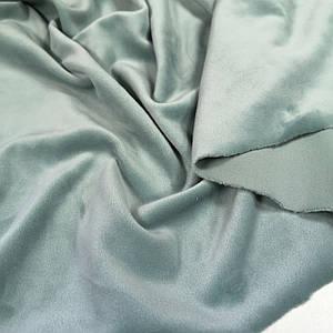 Ткань плюш велюр фисташка