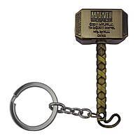 Брелок СГМ 5010 об'ємний Молот Тора (бронза)