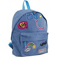 Рюкзак молодіжний ST-15 Jeans LOL 30*36*12, Yes