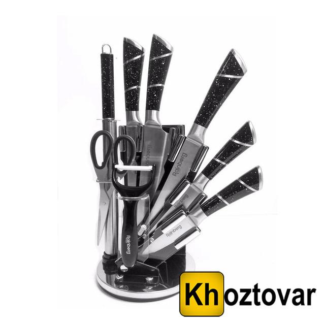 Набір кухонних ножів Rainberg RB-8804   9 предметів