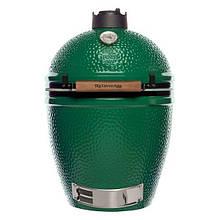 Гриль з кераміки з решіткою з нержавіючої сталі в зеленому кольорі Big Green Egg Large 117632