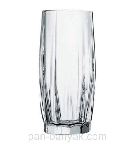 Набор стаканов высоких Pasabahce Dance 6 штук 320мл d6,1 см h14,3 см стекло (42868)