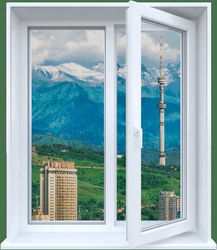 Вікно на кухню «Стандарт» (1 300х1 400 мм)