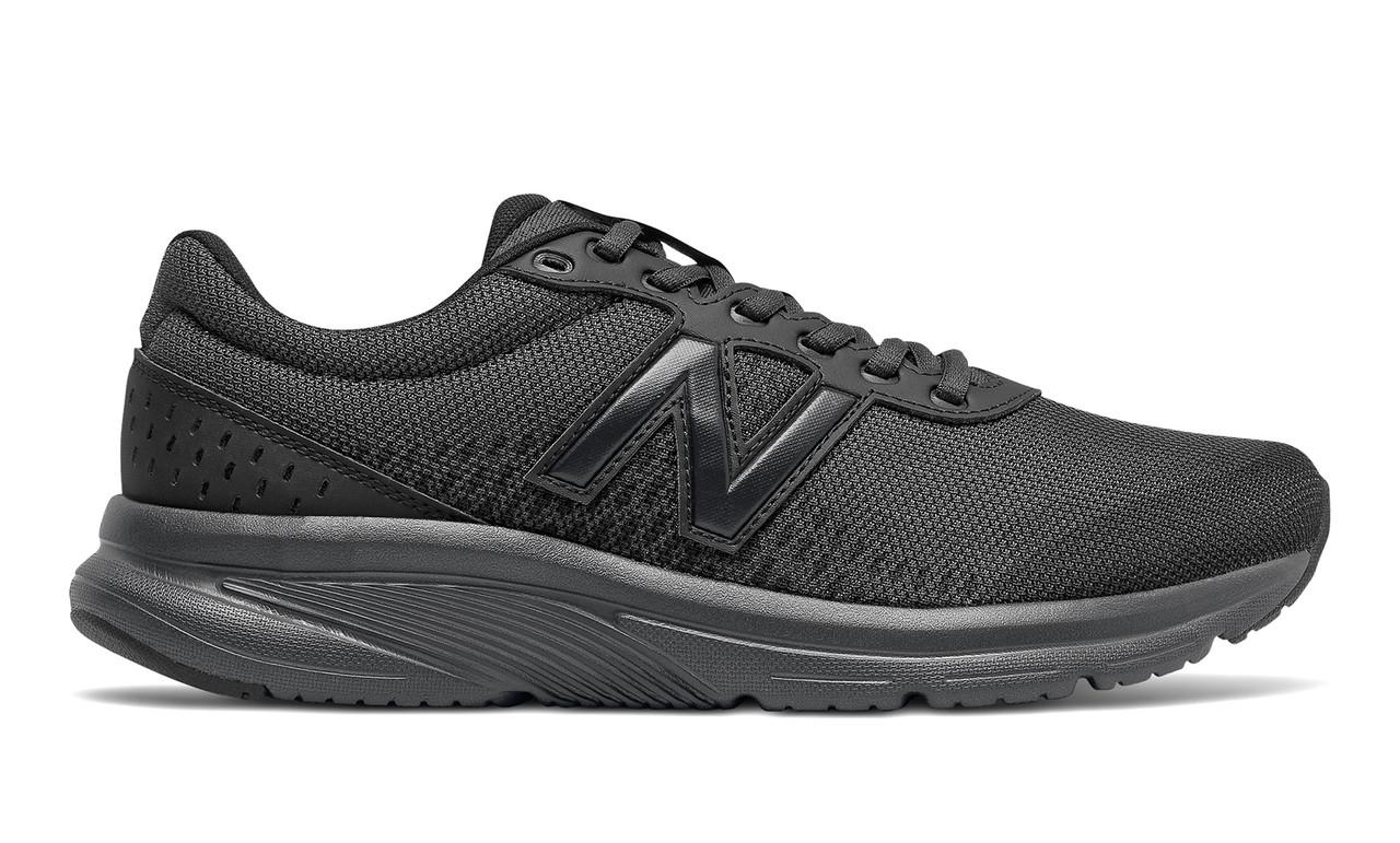 Кросівки чоловічі New Balance 411 чорні M411LK2