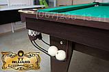 Більярдний стіл для пулу ОСКАР 7 футів ЛДСП 2.0 м х 1.0 м з натурального дерева, фото 4