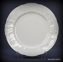 Тарілка обідня Thun Bernadotte (Наречена) 6 штук d25 см фарфор (3632021)