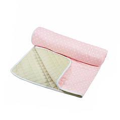 Матрац для вігваму Lesko D002 Зірки Pink дитячий килимок