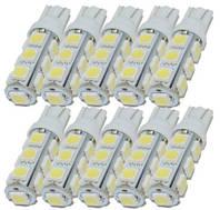 Лампы габаритные 13 диодов 8 штук комплект цена140 грн