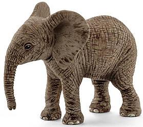 Schleich 14763  Фигурка Африканский слоненок Wild Life African Elephant Calf Toy