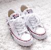 Кеды Converse All Star White Low низкие белые (Конверсы) женские и мужские размеры: 36-44 40 - Фото