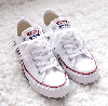 Кеды Converse All Star White Low низкие белые (Конверсы) женские и мужские размеры: 36-44 - Фото