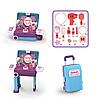 Игровой набор чемодан для девочек SUITCASE Transformable MAKEUP (CK05A)
