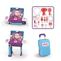Ігровий набір валізу для дівчаток SUITCASE Transformable MAKEUP (CK05A), фото 1