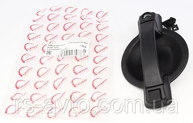 Ручка двери (задней/снаружи) (L) Fiat Doblo 01- (без центрального замка)