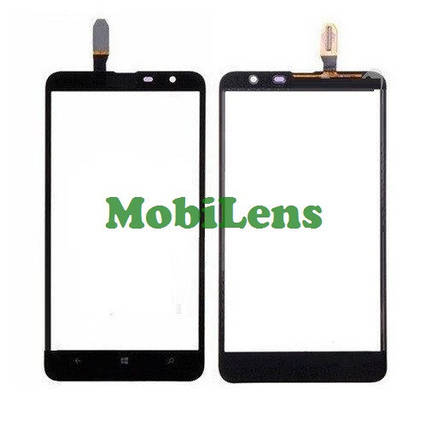 Nokia 1320 Lumia Тачскрин (сенсор) черный, фото 2