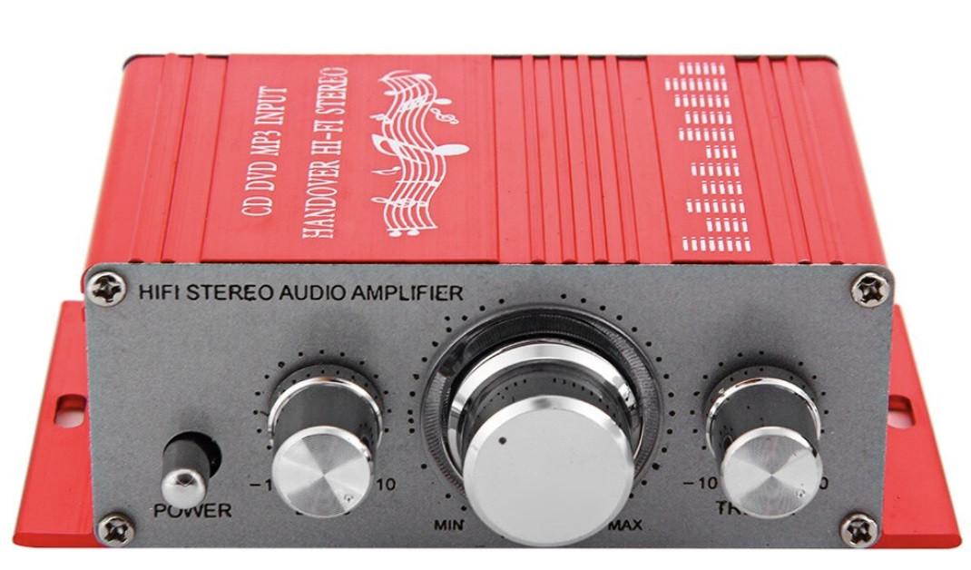 HiFi стерео міні 2-х канальний підсилювач HY-2001