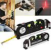Лазерний рівень з вбудованою рулеткою Laser Level Pro 3