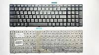 Клавиатура для ноутбуков MSI GE60, GE70, GX60 черная с черной рамкой UA/RU/US