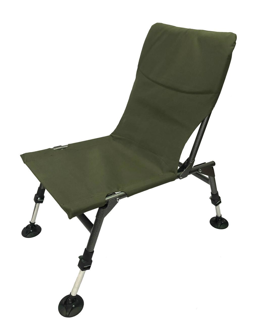 Крісло для риболовлі з регульованими ніжками Vario Compact