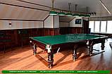 Бильярдный стол для пирамиды ПРИНЦ 12 футов Ардезия 3.6 м х 1.8 м из натурального дерева, фото 3