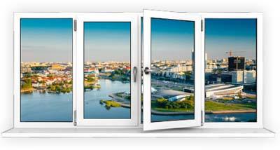 Скління балкона «Стандарт»