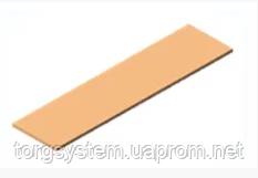 Поличка із МДФ   L=695мм, W=200мм для економпанелі