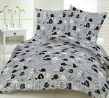 Комплект постельного белья Пара кошек