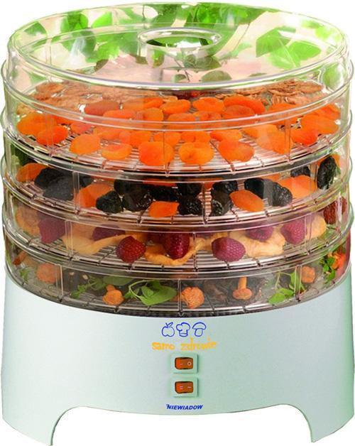 Сушильный аппарат дегидратор для фруктов и овощей Niewiadow TYP 970 PS 300 Вт. 4 поддона