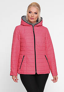 Куртка демисезонная Акварель розовый