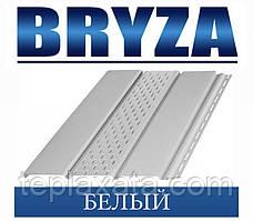 Сайдинг Софіт BRYZA вініловий БРИЗУ білий (1,22 м2)