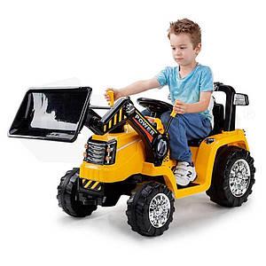 Экскаватор аккумуляторной детский с пультом ZP1005
