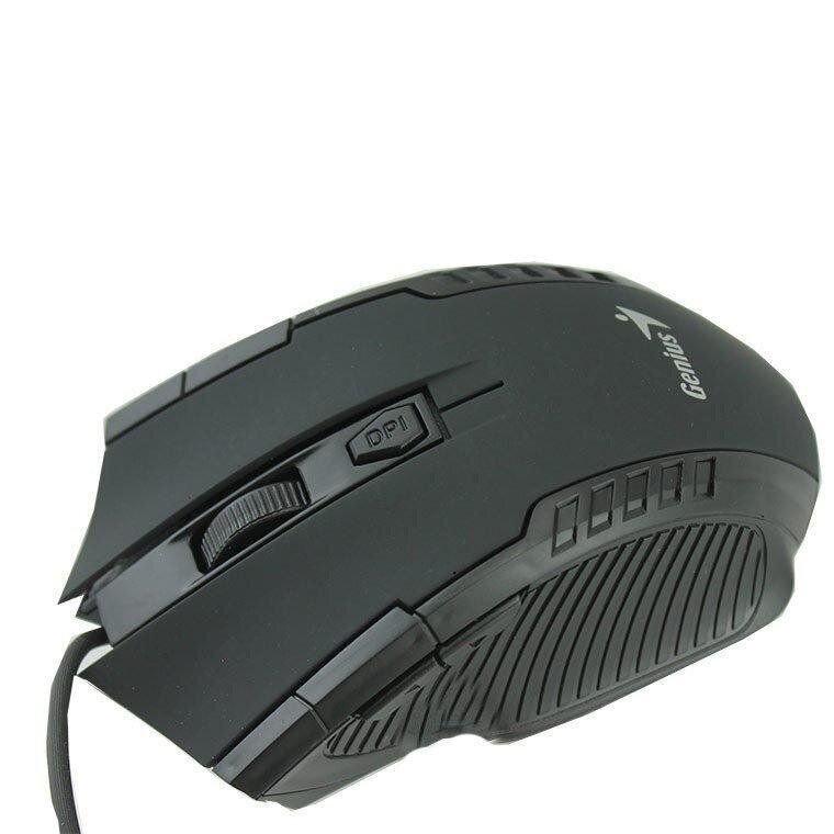 Проводная оптическая мышка USB Genius X7 игровая для ПК и ноутбука
