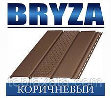 Сайдинг Софіт BRYZA вініловий БРИЗУ коричневий (1,22 м2)