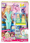 Кукла Барби  Педиатр Barbie Careers Baby Doctor Playset, фото 5
