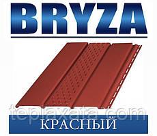 Сайдинг Софіт BRYZA вініловий БРИЗУ червоний (1,22 м2)