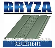 Сайдинг Софіт BRYZA вініловий БРИЗУ зелений (1,22 м2)