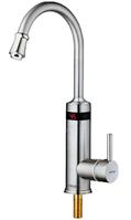 Проточный водонагреватель электрический кран MIXXUS Electra 340ES LCDэкран для кухни и ванны нижние подключени