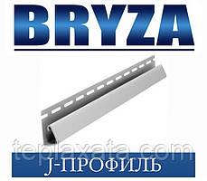 Сайдинг BRYZA J-профіль білий, 4 метри