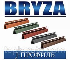 Сайдинг BRYZA J-профіль кольоровий, 4 метри