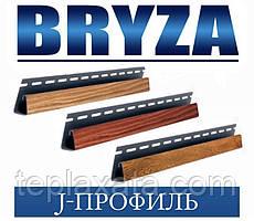 Сайдинг BRYZA J-профіль під дерево, 4 метри